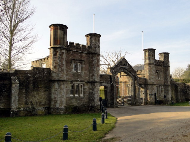 Entrance Lodges Pudleston Court Philip Pankhurst