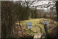 SK9167 : Northern entrance to Whisby Nature Park by Chris