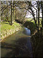 TQ8139 : Tributary of the Hammer Stream Lowland farm looking NE by Peter Skynner