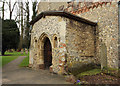 TL0911 : St Mary, Redbourn - Porch by John Salmon