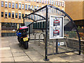 SE0925 : Cycle parking outside Northgate House, Halifax by Phil Champion
