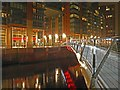 SJ8398 : The new Irwell footbridge Manchester by Steve  Fareham