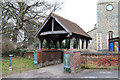 TL1710 : St Leonard, Sandridge - Lychgate by John Salmon