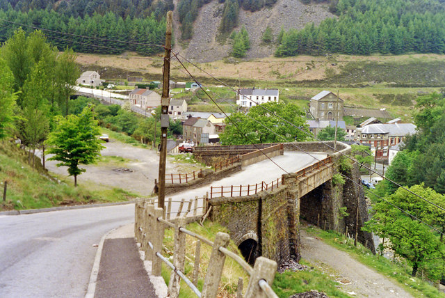 Sites Of Cymmer Stations 1990 169 Ben Brooksbank