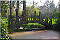 SP0583 : Japanese bridge at Winterbourne by Phil Champion