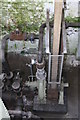 SK0319 : Brindley Bank Pumping Station - water turbine by Chris Allen