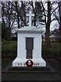 SJ6086 : War Memorial, Lower Walton by JThomas