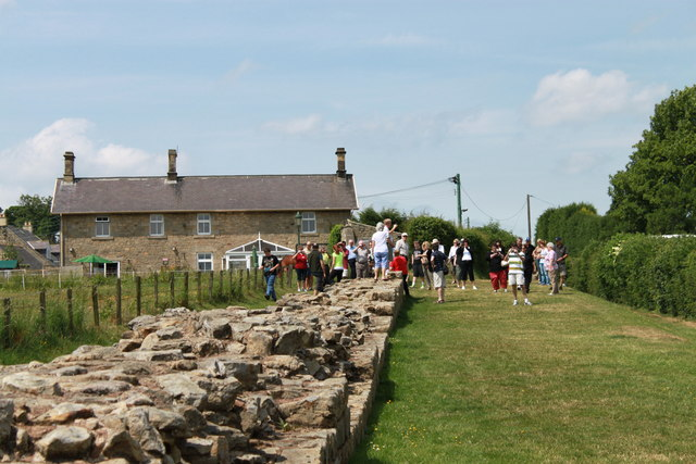 Hadrian's Wall at Heddon-on-the-Wall