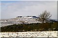 SK2581 : A Snowy Higger Tor by David Lally