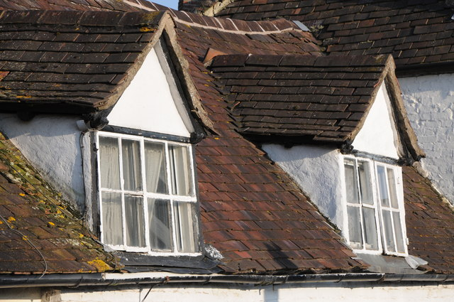 Dormer Windows In A Cottage Philip Halling Cc By Sa 2 0