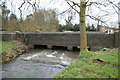 SK3707 : River Sence by Help-Out Mill, Odstone by Chris Allen