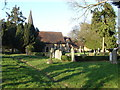 TQ0660 : St Mary the Virgin, Byfleet by Alan Hunt