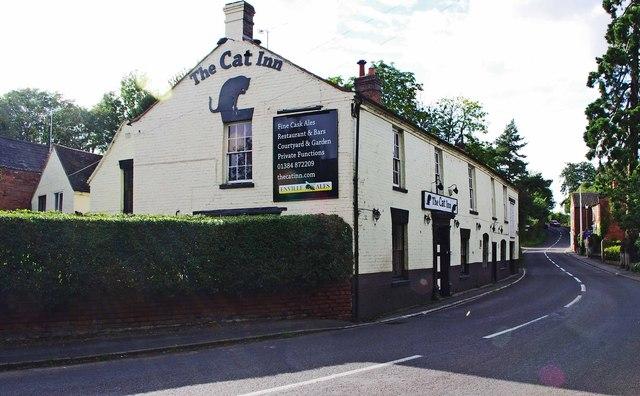 the cat inn 1 bridgnorth road 169 p l chadwick
