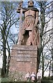 NT5932 : Statue of William Wallace by James Allan