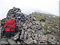 NN4473 : West Cairn On Beinn Eibhinn by Douglas Law