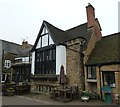 SP4540 : The Globe Room exterior, Olde Reine Deer Inn by Rob Farrow