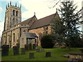 SK4847 : St Mary's Church, Greasley NG16, Notts. by David Hallam-Jones