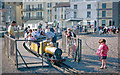 TQ8209 : Hastings: miniature railway on Marine Parade, 1962 by Ben Brooksbank