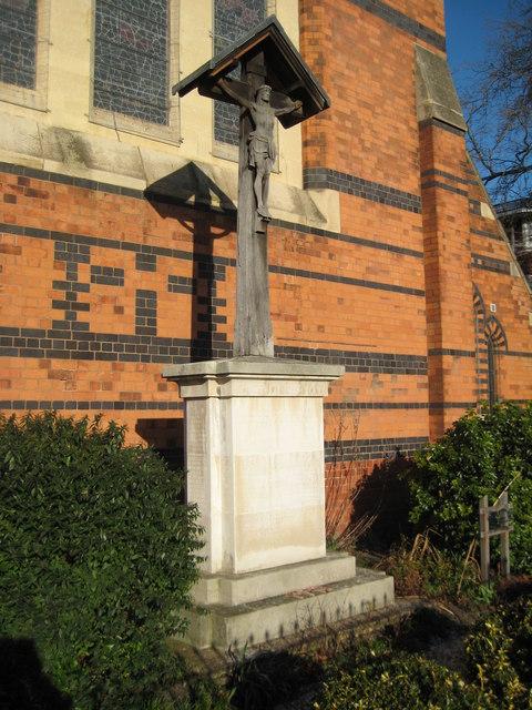 War Memorial in front of St Paul's... © Philip Halling ...