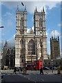 TQ2979 : Western Facade, Westminster Abbey by Robin Sones