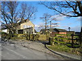 SJ9592 : Entrance to Werneth Hall Farm by John Topping