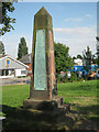 SP3280 : Radford War Memorial, Engleton Road, Coventry CV6 by Robin Stott