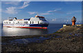 SD3959 : Stena Performer arrives at Heysham by Ian Taylor