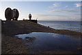 SD3959 : Heysham Harbour mouth by Ian Taylor