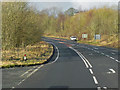 NY4327 : Westbound A66 near Penruddock by David Dixon