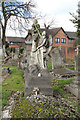 TQ2184 : St Mary, Neasden Lane, Church End - Gravestone by John Salmon