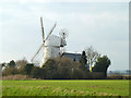 TL6830 : Great Bardfield Windmill by Robin Webster