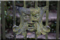 SP0511 : Interesting Gate, Chedworth by Christine Matthews