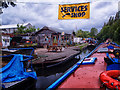 SP0879 : Lyons Boatyard on the Stratford Canal (Northern Section) by Gillie Rhodes