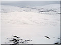NN8979 : Snow covered moorland east of Sron Dubh by wrobison