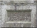 SW6434 : Datestone on the Old Schoolhouse, Crowan by Humphrey Bolton