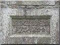 SW6434 : Datestone on the Old Schoolhouse, Crowan by Humphrey Bolton