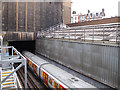 TQ3082 : Metropolitan Line tunnel portal by Stephen Craven