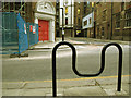 TQ3082 : Cycle stand, Britannia Street by Stephen Craven