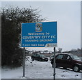 SP3873 : Coventry City FC training ground, Ryton by E Gammie