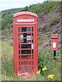 NG3853 : Clachamish: postbox № IV51 16 by Chris Downer