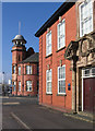 SJ6087 : Warrington - buildings on Wilson Patten Street by Dave Bevis