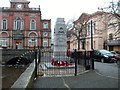 J0826 : The War Memorial, Bank Place, Newry by Eric Jones