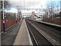 SJ8786 : Cheadle Hulme railway station by Nigel Thompson