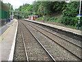 SJ8483 : Styal railway station by Nigel Thompson