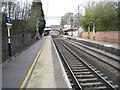 SJ8478 : Alderley Edge railway station by Nigel Thompson