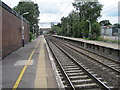 SJ8174 : Chelford railway station by Nigel Thompson