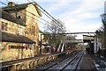SJ9893 : Broadbottom railway station by Nigel Thompson