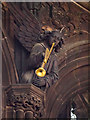 SJ8398 : Musical Angel, Manchester Cathedral by David Dixon