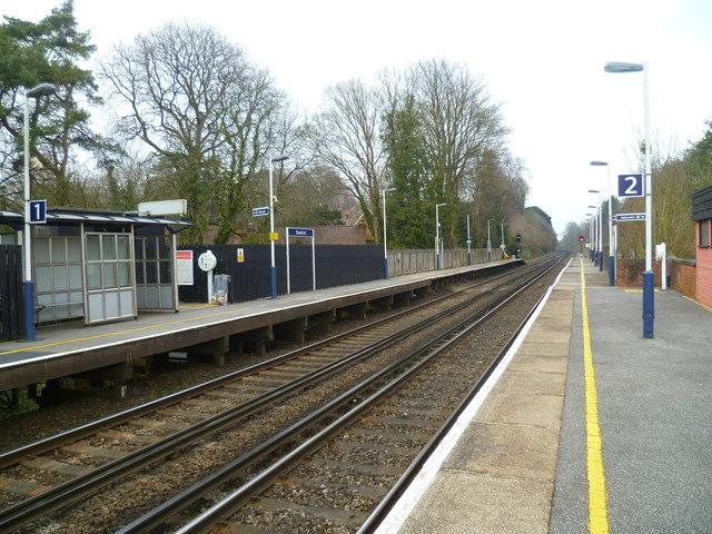 Platform 2 At Shawford Station Shazz Cc By Sa 2 0