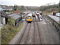 SK2853 : Wirksworth railway station, Derbyshire by Nigel Thompson